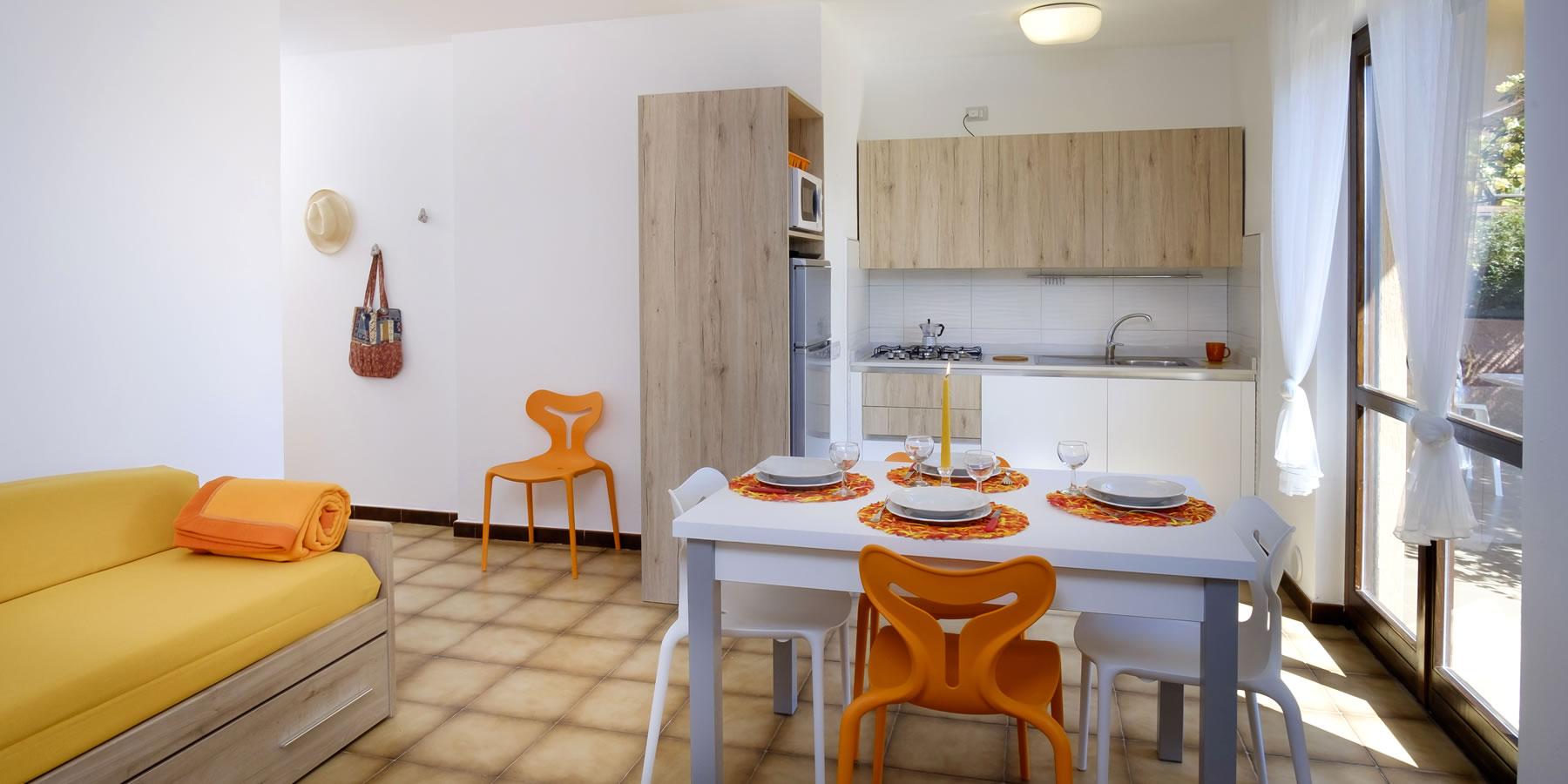 Appartements trois pièces Appartamenti Caffarena